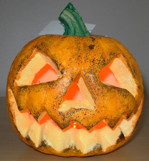 Light up pumpkin flashing
