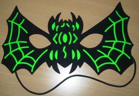 Halloween spider mask
