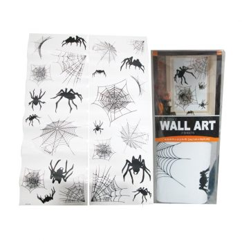 Spider wall art stickers