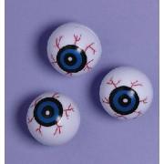 Plastic eyeballs