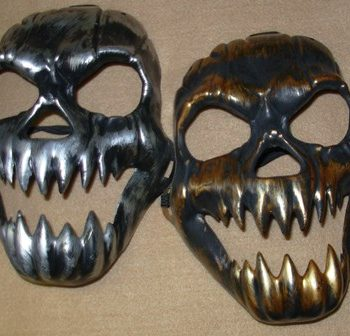 Antique skull masks