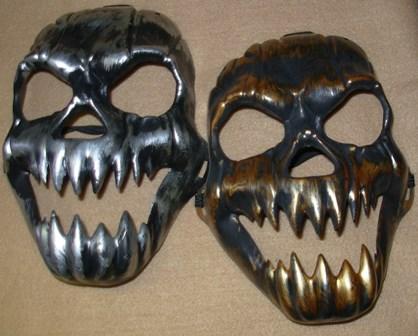 Antique skull masks