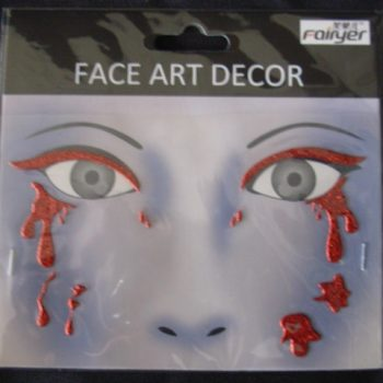Face art tattoos