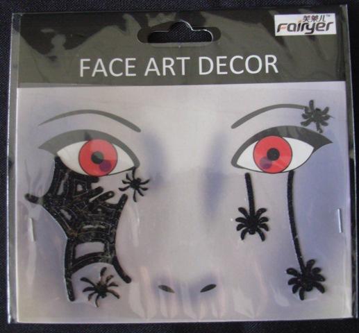 Face art tattoos