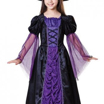 Pincess witch costume child