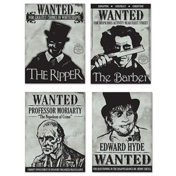 Sherlock wanted signs