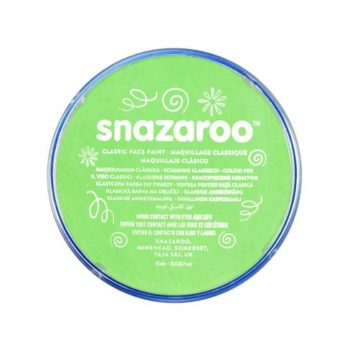 Snazaroo face paint lime green