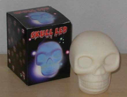 LED skull light
