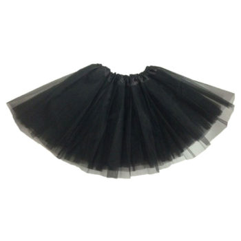 Black tutu skirt - child