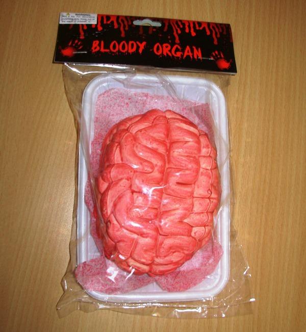Bloody brain