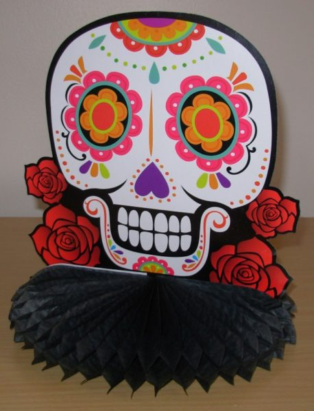 Day of the Dead centrepiece