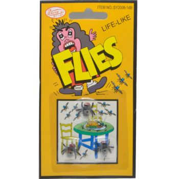 Fake plastic flies
