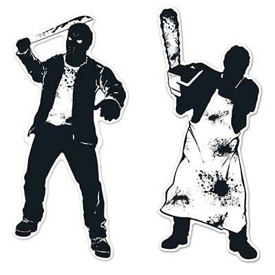 Psycho silhouettes