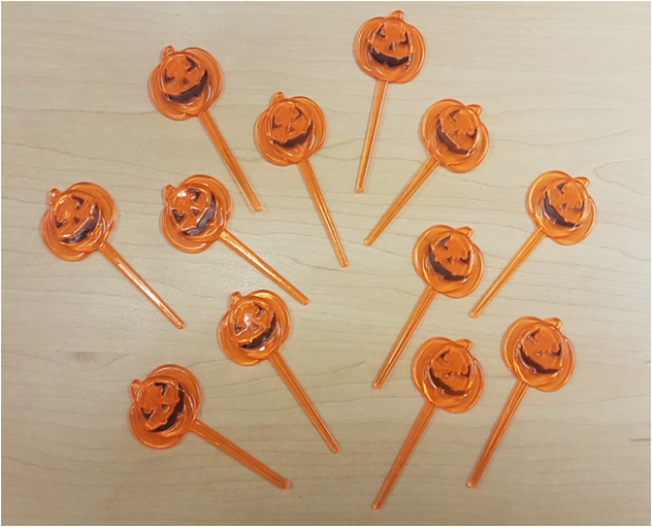 Cupcake picks - pumpkins