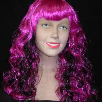 Purple Oracle witch wig