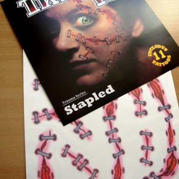 Tattoo FX - stapled