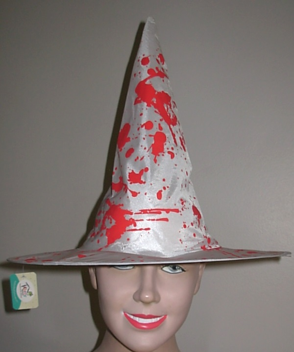 Bloody witch hat