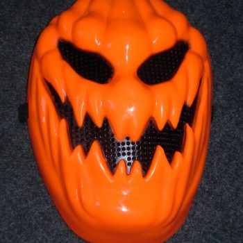 Creepy pumpkin mask