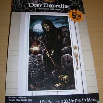 Grim reaper door cover