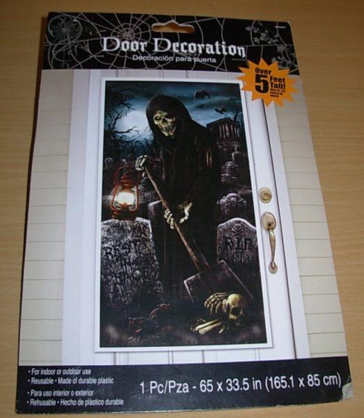 Grim reaper door cover