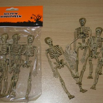 Pack of small skeletons