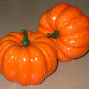 Small pumpkin decorations