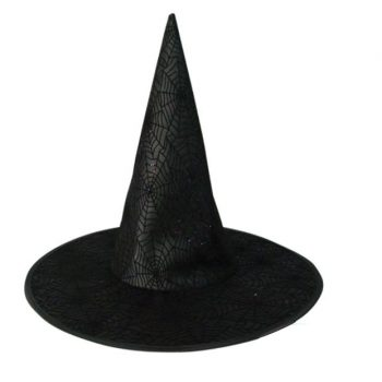 Witch hat with web design