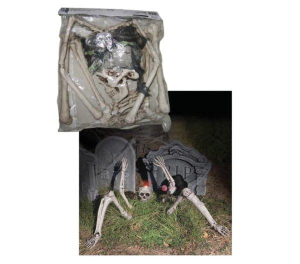 Skeleton ground breaker