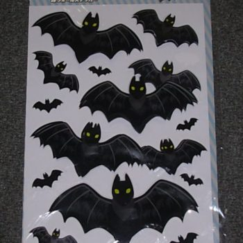 3D wall stickers - bats