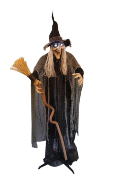 Animated witch prop