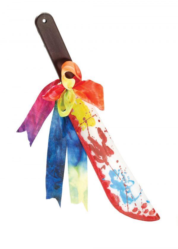 Evil clown machete