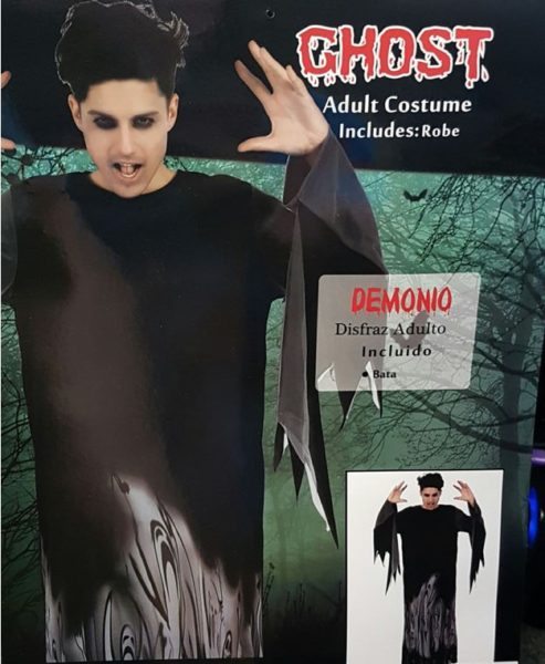 Ghost costume men's