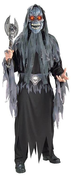 Evil eye skull costume
