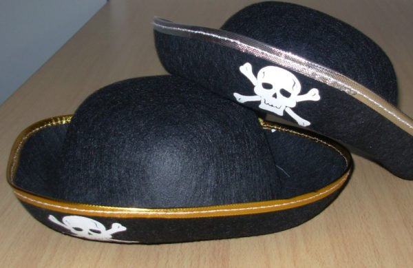 Pirate hats - child