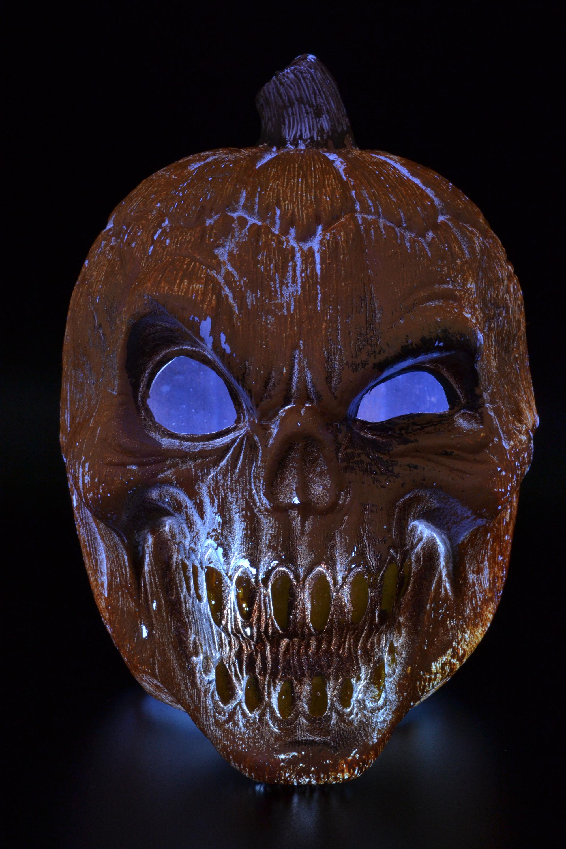 Evil pumpkin prop