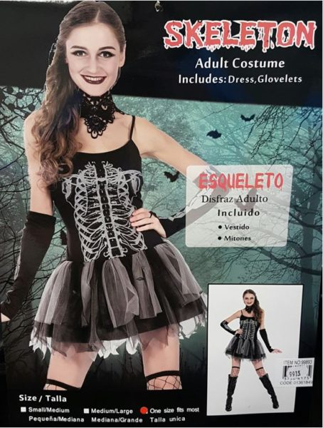 Skeleton kady costume