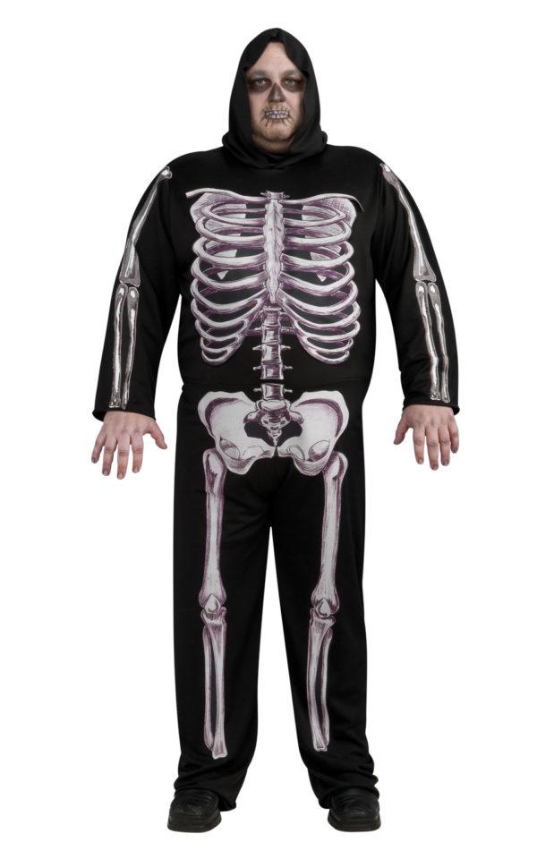 Skeleton costume plus size