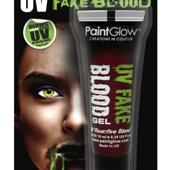 UV fake green blood