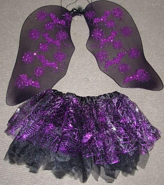 Web design skirt & wings set