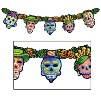 Day of the Dead jointed garland