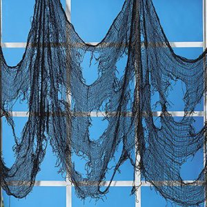 Spooky window netting cloth