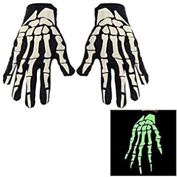 Skeleton gloves - glow in the dark