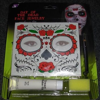 Day of the Dead tattoo set