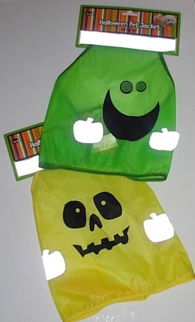 Halloween pet jackets