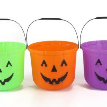 Pumpkin buckets assorted colours