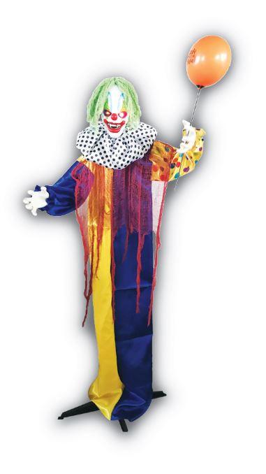 Animated clown