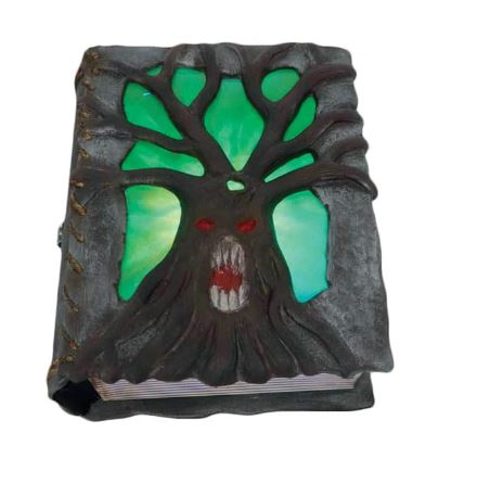 Animated witches spell book