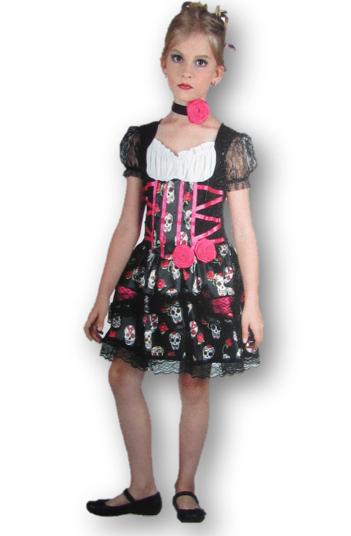 Day of the Dead children's costume
