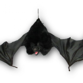 Large furry animated bat