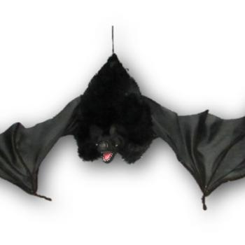 Large furry animated bat